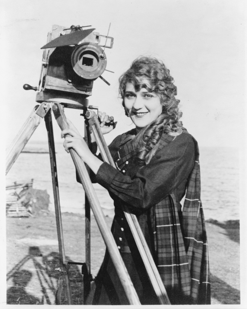 Mary Pickford with Camera