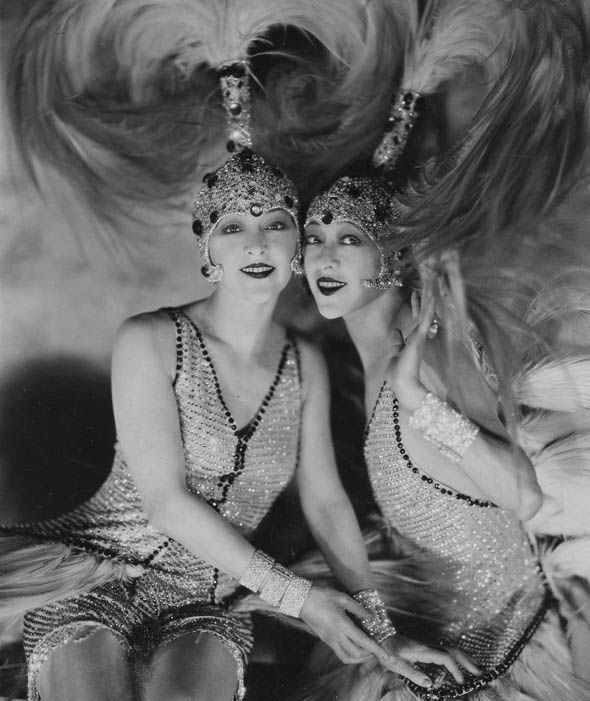 The Dolly Twins Flapper Costumes