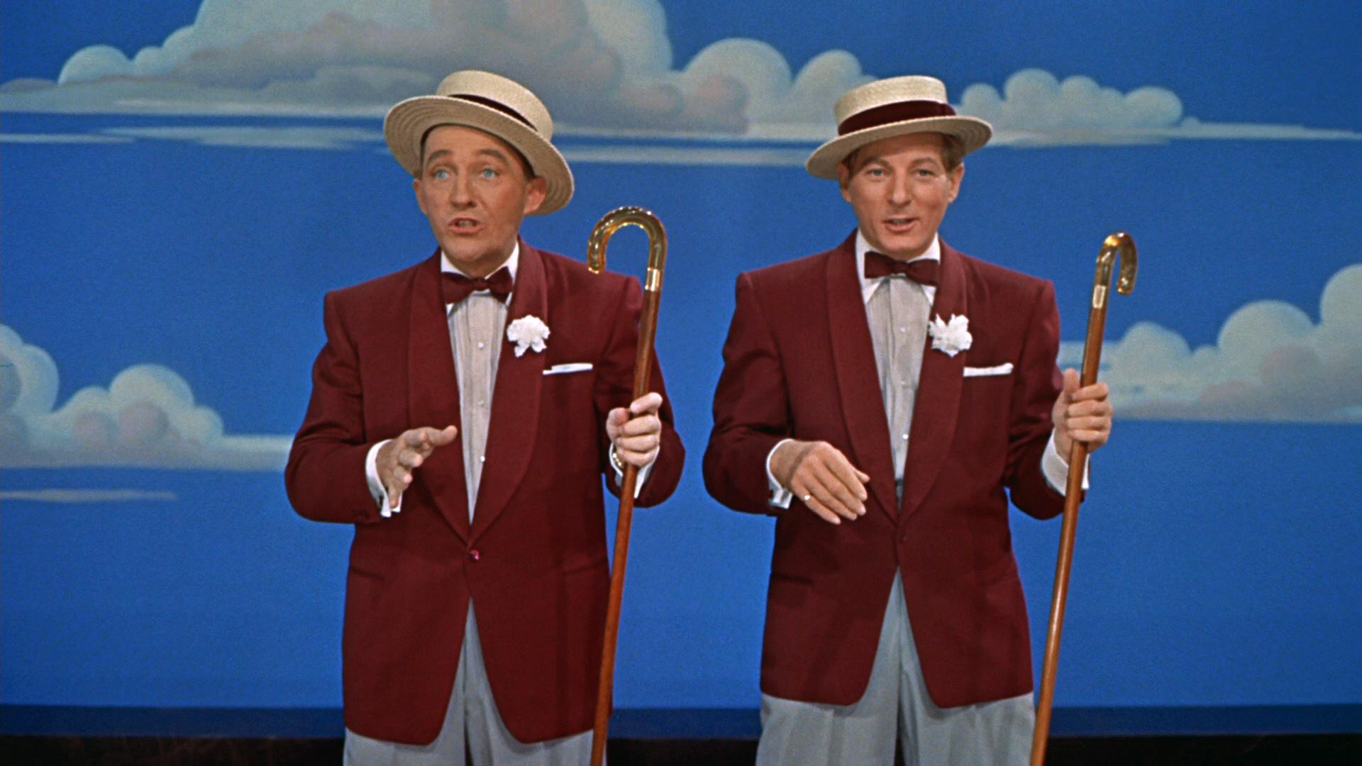 Bing Crosby And Danny Kaye In White Christmas 1954
