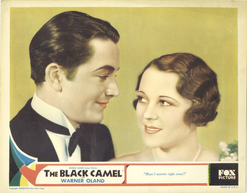Robert Young Black Camel Charlie Chan