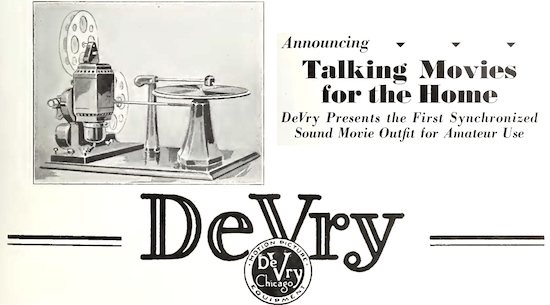 DeVry Home Talkie Advertisement