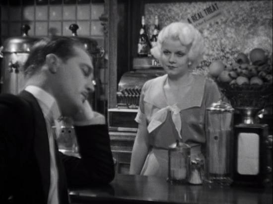 Walter Byron and Jean Harlow in Three Wise Girls (1932)