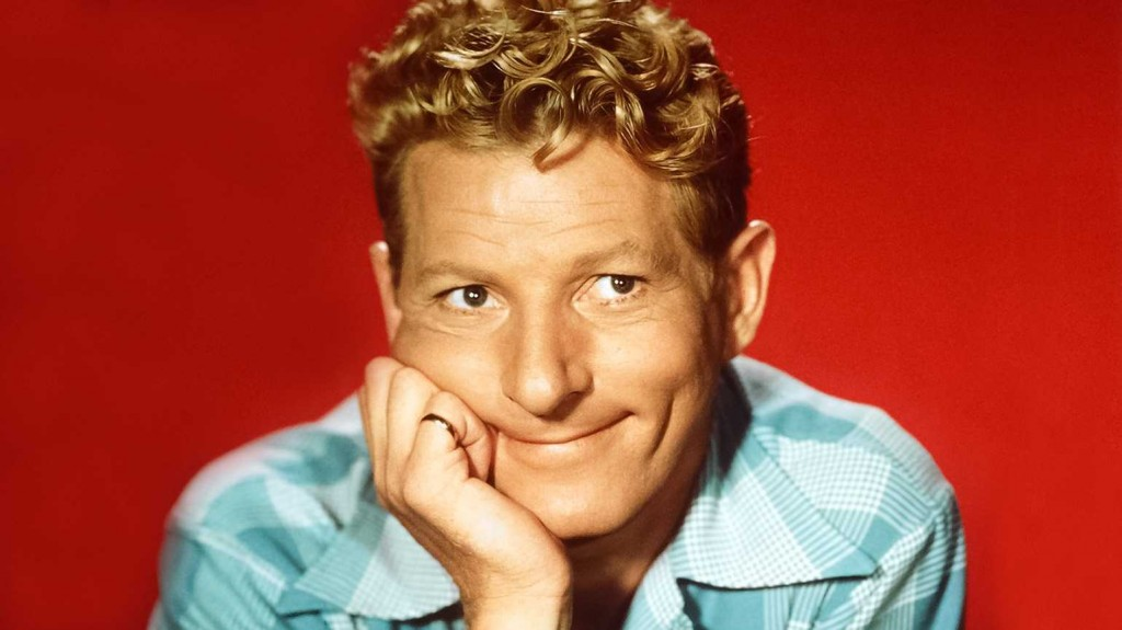 Danny Kaye Red Headshot
