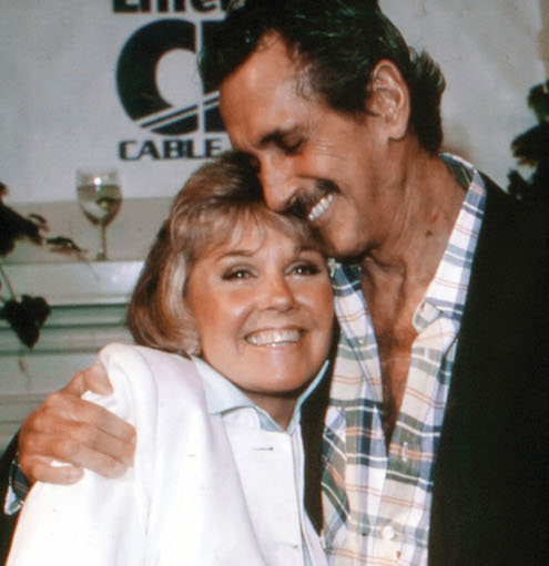 Doris Day, Rock Hudson (ca. 1985)