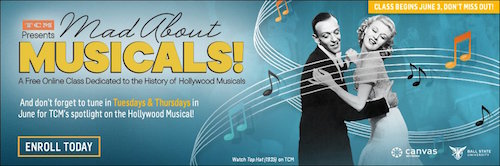 mad about musicals tcm online course