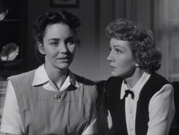 since you went away, Jennifer Jones and Claudette Colbert