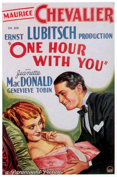 One Hour with You (1932) Movie Poster