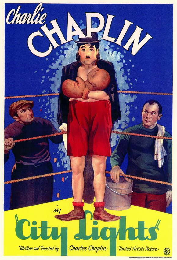 Charlie Chaplin City Lights Movie Poster (1931)