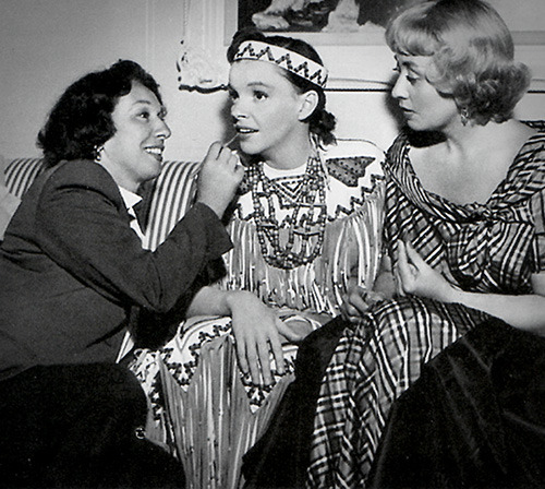 dottie ponedel, judy garland and joan blondell
