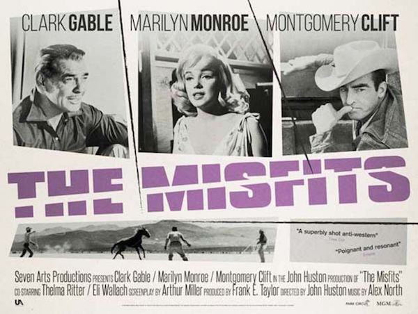 the misfits movie poster