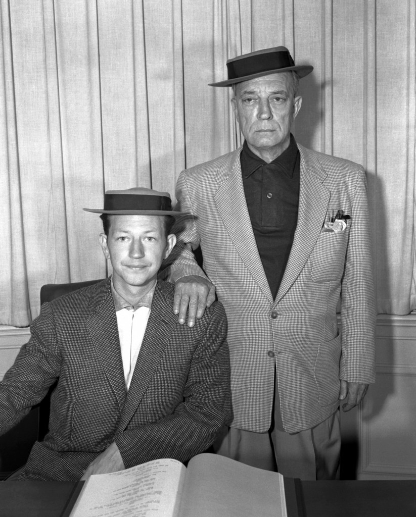 Donald O'Connor and Buster Keaton