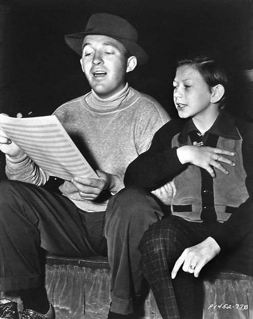 Donald O'Connor and Bing Crosby