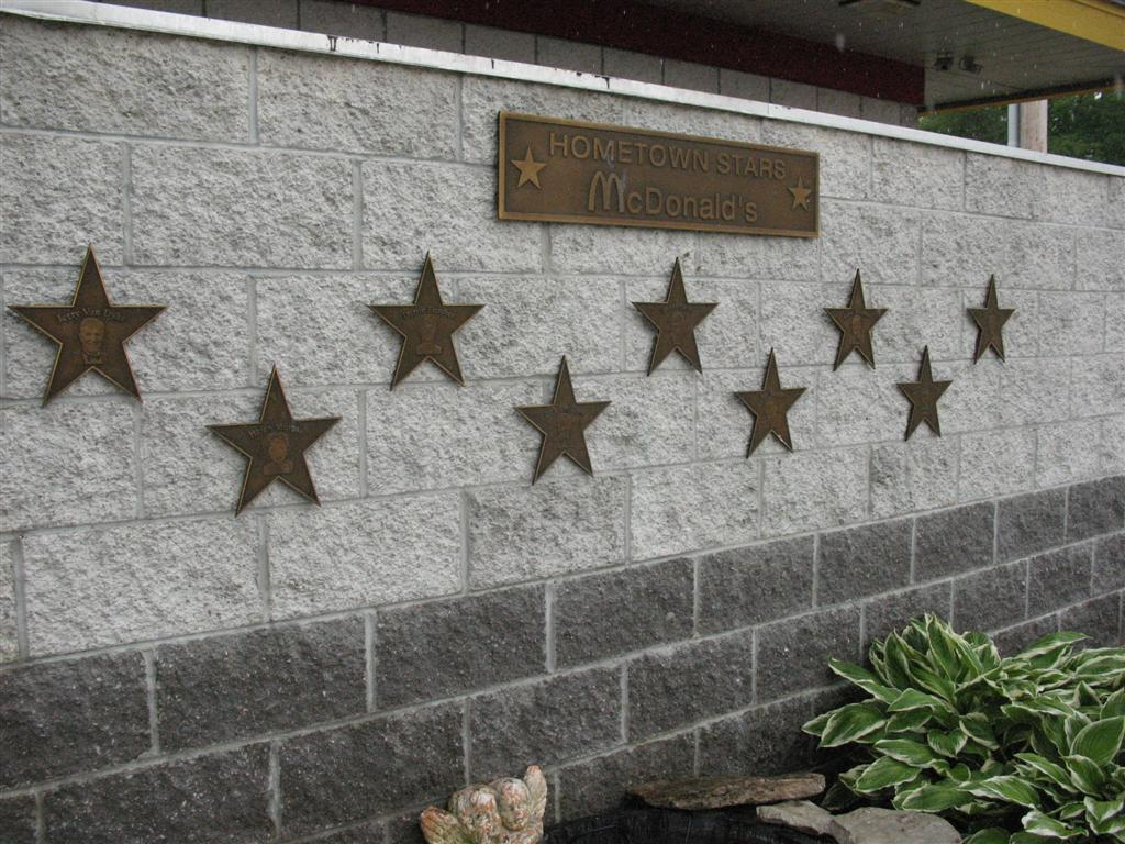 Donald O'Connor Star Memorial