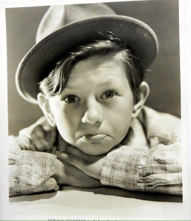 Young Donald O'Connor