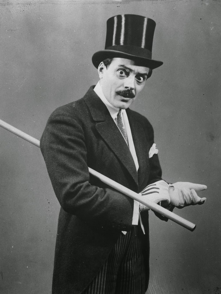 Max Linder in his famous silk top hat