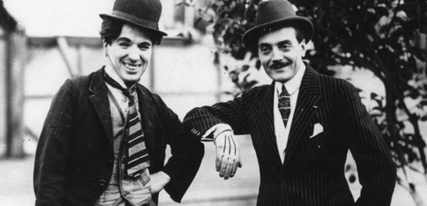 Max Linder and Charlie Chaplin