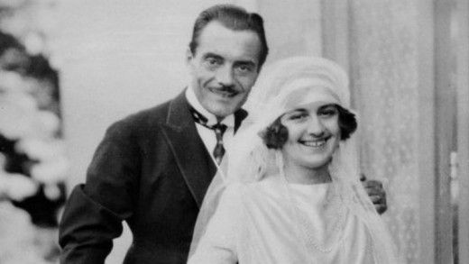 Max Linder and his wife, Helen