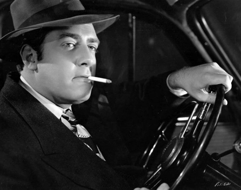 Raymond Burr as Mack MacDonald in Pitfall (1948)