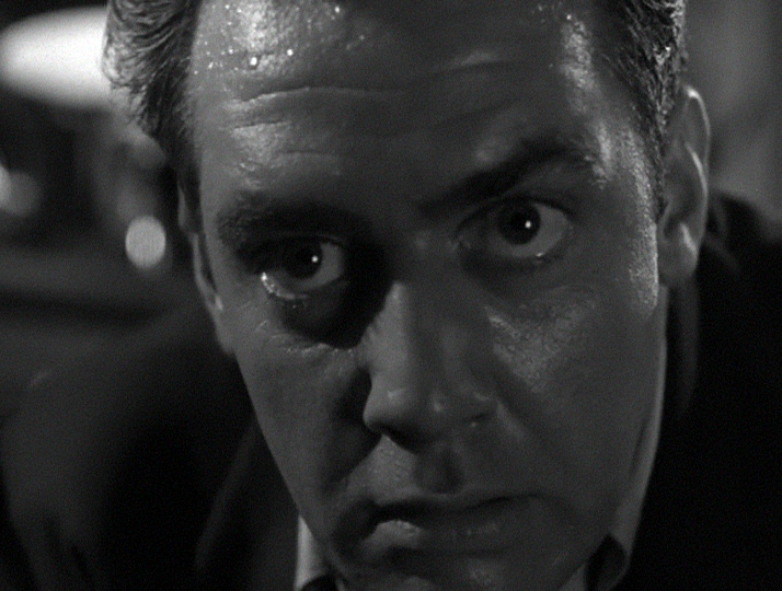 Raymond Burr as Nick Ferrano in His Kind of Woman (1951)