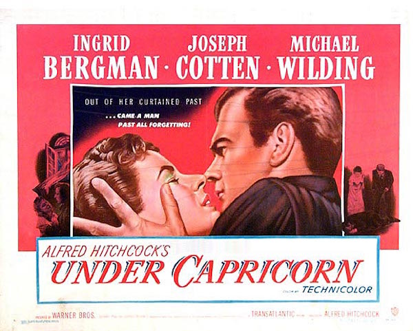 alfred hitchcock's under capricorn movie poster