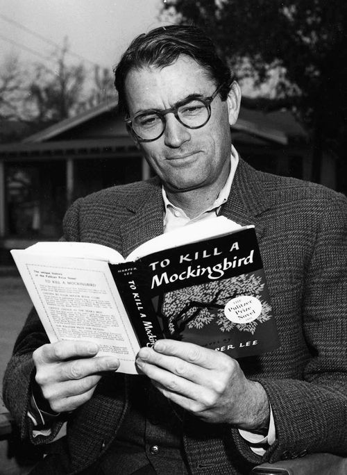 gregory peck reading to kill a mockingbird
