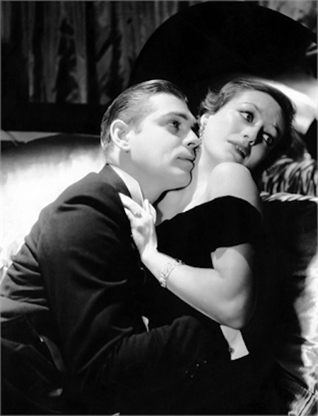 Clark Gable and Joan Crawford in Possessed (1931)