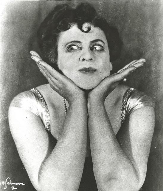 Marie Dressler Funny Face Hands