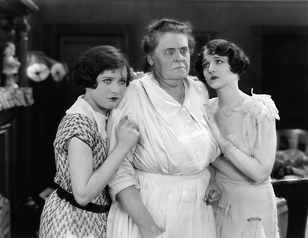 Marie Dressler, Sally O'Neil and Gertrude Olmstead in The Callahans and the Murphys (1927).