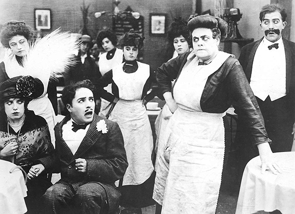 Tillie's Punctured Romance (1914) Mabel Normand, Charlie Chaplin and Marie Dressler