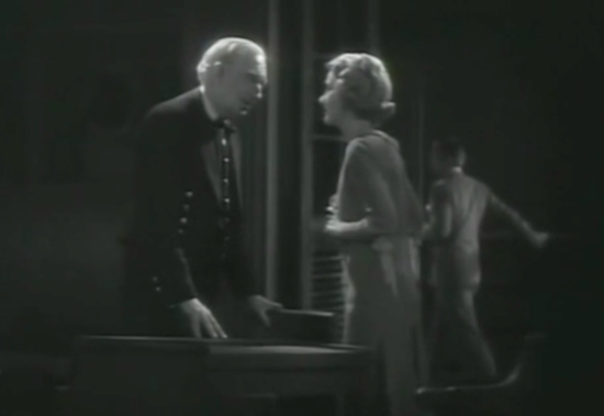 Outward Bound (1930) Alec B. Francis as Scrubby and Helen Chandler as Anne