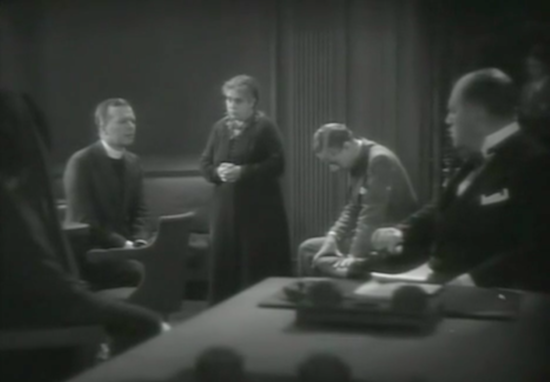 Outward Bound (1930) Beryl Mercer, Leslie Howard, Lyonel Watts Prayer