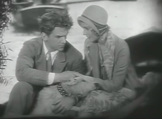 Outward Bound (1930) Douglas Fairbanks Jr., Helen Chandler and Laddy the Dog