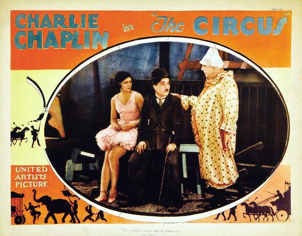 the circus 1928 lobby card