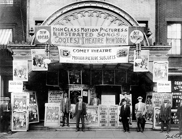 Comet Theatre (1917) New York City
