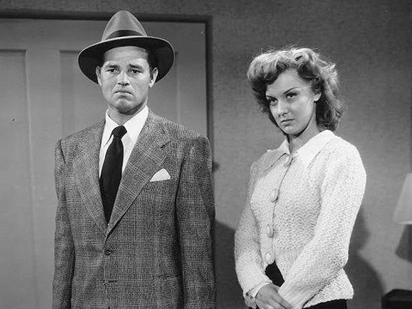 Detour (1945) Tom Neal and Ann Savage
