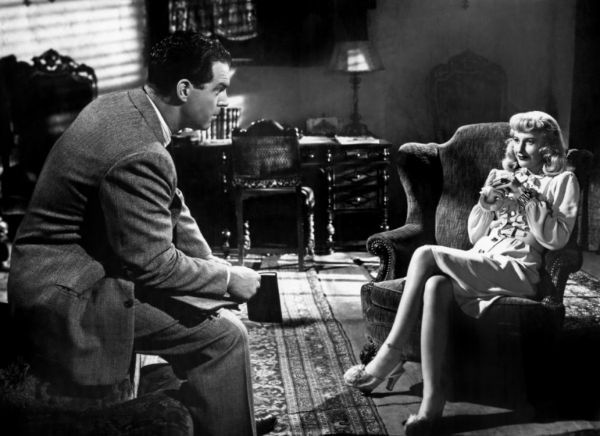 Double Indemnity (1944) Fred MacMurray and Barbara Stanwyck
