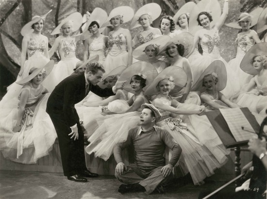 Footlight Parade James Cagney and Frank mcHugh