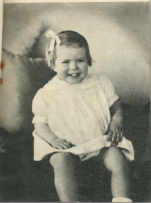 Grace Kelly as a Baby