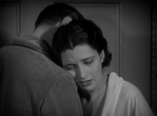 Man Wanted (1932) Kay Francis and Kenneth Thompson hug