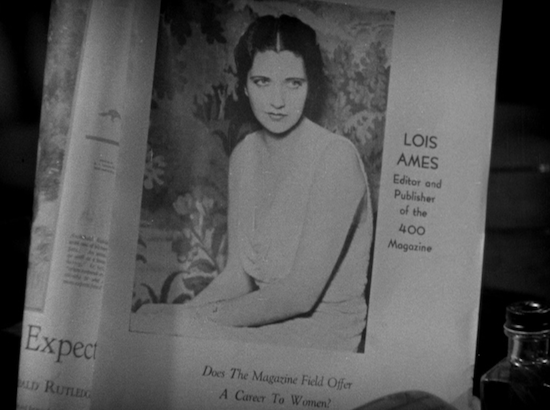 Man Wanted (1932) Kay Francis as Lois Ames in Magazine