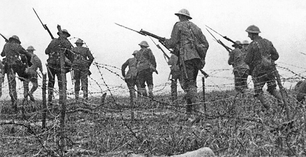 Scene From Battle of The Somme (1916) World War I in Film