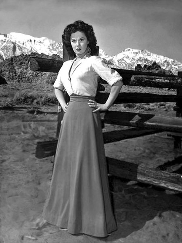 Susan Hayward in Rawhide (1951)