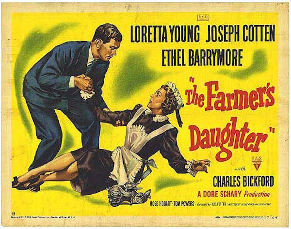 the farmers daughter movie poster