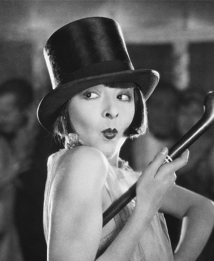 Colleen Moore Top Hat Flapper