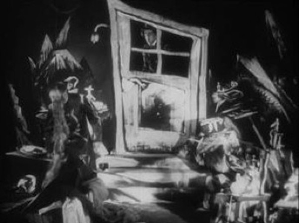 From Morn to Midnight (1920) Set Design German Expressionism