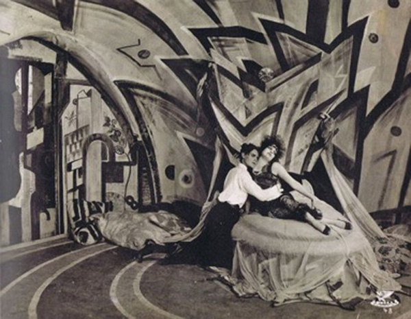 Genuine (1920) Set Design German Expressionism