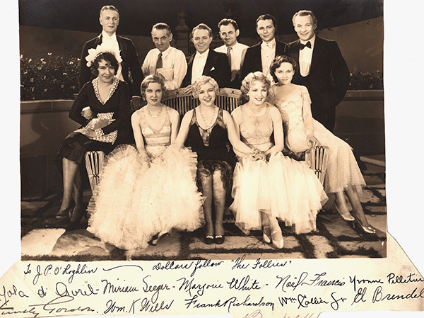 Happy Days Cast Autographed 1930