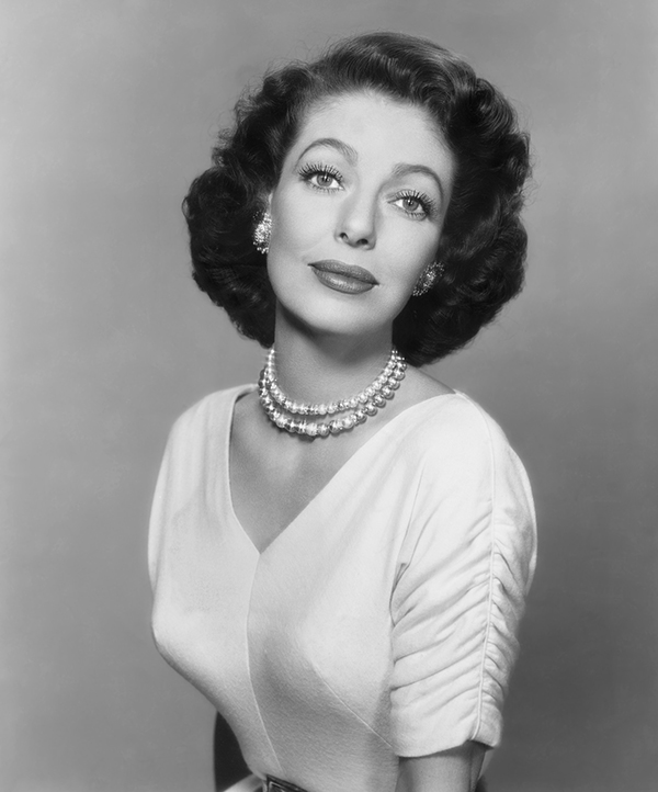 Loretta Young Headshot