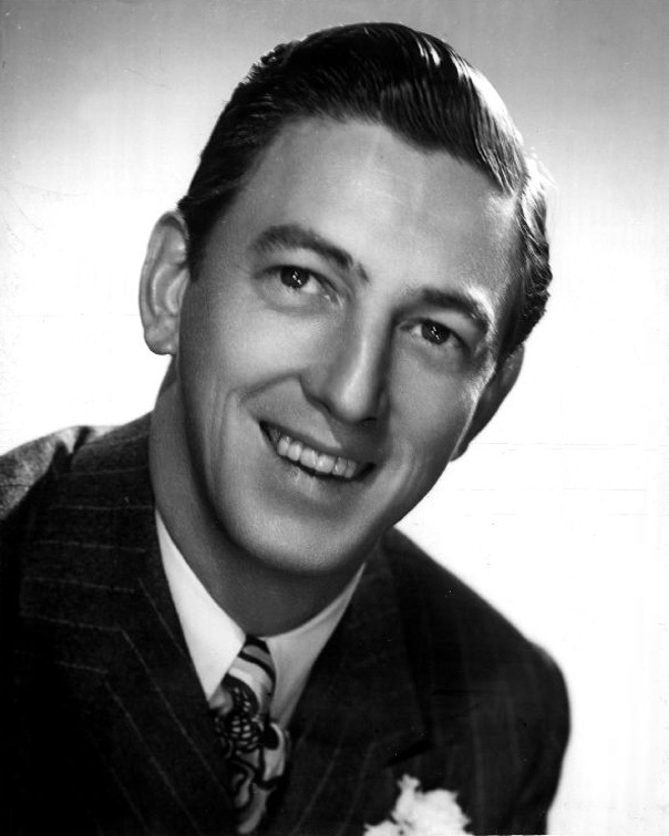 Ray Bolger Headshot Black and White