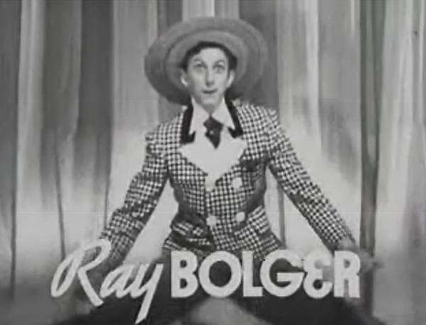 Ray Bolger in The Great Ziegfeld (1936)